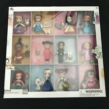 Disney Store Princess Animators Colección Deluxe Set 12 Muñecas Estatuillas De Regalo