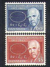 Denmark 1963 Niels Bohr/Science/Atomic Scientist/Atom/Physics 2v set (n37382)