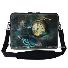 "17.3"" Laptop Computer Sleeve Case Bag w Handle & Shoulder Strap 773"