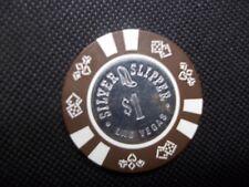 New listing Silver Slipper $1 Casino Chip ~ Las Vegas Nevada ~ Good Condiion
