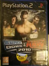 WWE SMACK DOWN VS RAW 2010 NUOVO / INCELOFANATO / ITALIANO PLAYSTATION 2