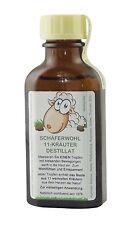 SCHÄFERWOHL 11-Kräuter-Destillat 50ml Flasche, ätherisches Wellness-Kräuteröl