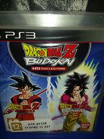 Dragon Ball Z Budokai HD Collection Game PS3 Brand New / Sealed