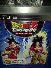 dragon ball z budokai hd collection game ps3 brand new/sealed