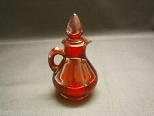 Avon Strawberry Bath Foam Bottle Decanter Red Empty