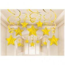 Decorazioni Amscan oro per feste e party