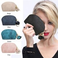 New Fashion Women Leather Small Mini Wallet Holder Zip Coin Purse Clutch Handbag