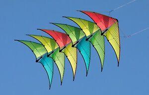 Prism NEUTRINO Sport Kite 6 Stack W/Pro Stack Bag - RTF (Ready to Fly)