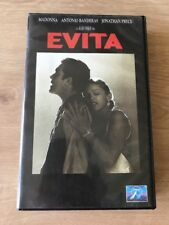 Videokassette Evita Madonna Antonio Banderas VHS Video-Film