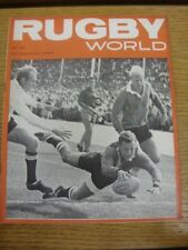 Jul-1965 Rugby World Magazine: Vol.05, No.07 - Cover Image… Sid Nomis, Scoring A
