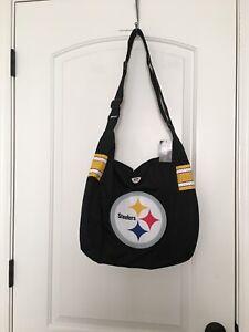 Pittsburgh Steelers Women's FootBall Jersey Tote Shoulder Bag Pro•FAN•ity.