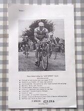 Alpsport Cycle & Jf.Wilson Specifications Original 1950's Flyer Rare Memorabilia