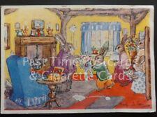 Margaret Ross 'Grannie's Birthday' c1940's showing Rabbit Characters No.S.234