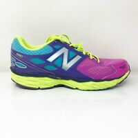 New Balance Womens 680 V3 W680LC3 Blue Purple Running Shoes Lace Up Size 10 D