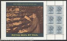 (TSW4) GB QEII Stamps BRITISH RAIL Prestige Booklet Pane ex DX7 1986