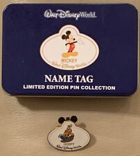 2008 WDW Disney Mystery Tin LE 1600 Name Tag Pin Collection ~ Goofy 64973