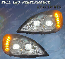 QSC Full LED Performance Headlights Assembly LH RH for Freightliner Columbia