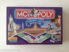 Monopoly Nord Pas de Calais (en euro) COMPLET 2001 PARKER Francais