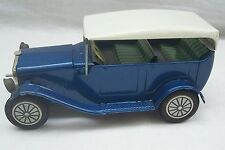 Vintage Tin Plate Friction Drive Model Toy Car - Made In Japan