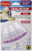 Hartz UltraGuard Dual Action Topical Flea & Tick for Dogs and Puppies 31-60 lbs