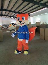 Squirrel Chipmunk Fox Adulte Mascotte Costume Costumes Déguisements tenue Anniversaire