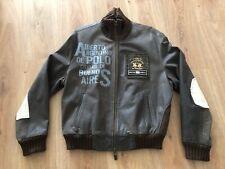 LA MARTINA - Chaqueta de Piel para hombre - Leather Men Jacket - Size Large