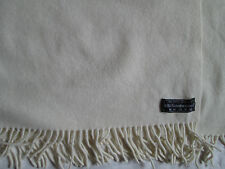 Echarpe grand CHALE - ETOLE  100% laine foulard TBEG  vintage scarf