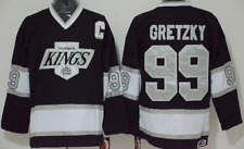 Kings Black Wayne Gretzky Jersey M, L, XL, 2XL, 3XL