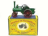 Matchbox Lesney Y1-1 1925 Allchin Traction Engine In 'A' Box (STRAIGHT TREADS)