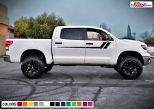 Decal Sticker Graphic Side Door Stripe Kit for Toyota Tundra Offroad 4x4 Racing