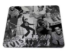Elvis Presley The King Of Rock Art Rubber anti-slip PC laptop mouse mat pad