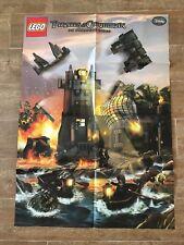 POSTER Only LEGO Pirates of the Caribbean On stranger Tides Whitecap Bay 4194