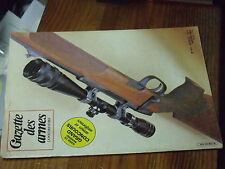 5µ? Revue Gazette des Armes n°101 Carabine Steyr-Mannlicher FM Bren Klingenthal
