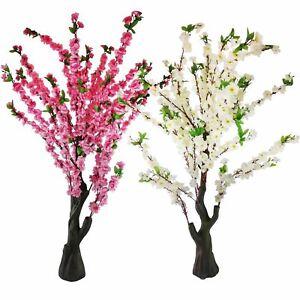 150cm Blossom Tree - Artificial Flowers Shabby Chic Vintage Silk Cherry Spring
