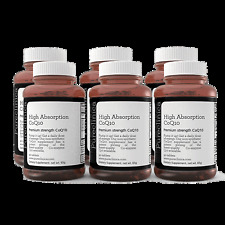 540 x 300mg CoQ10 – 18 mois de Vit C et E, + Black pepper extract! Coenzyme Q10
