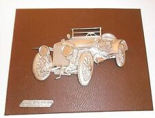 1912 HISPANO SUIZA ALFONSO XIII Vintage Hanging Wall Plaque Made in Italy
