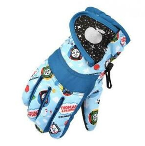 Winter Gloves for Kids Boys Girls Snow Windproof Mittens Outdoor Sports Skiing