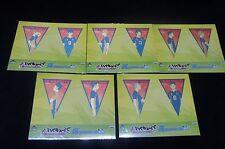 BANPRESTO Ichiban KUJI Haikyuu!! Flag Sticker Set All Ten set