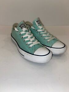 Converse Chuck Taylor All Star Mint Green LowTop Sneakers Men's 5 Women's 7
