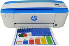HP DeskJet 3755 All-in-One Copy Printer Refurbished (Blue)