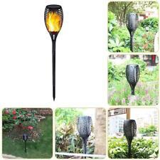 Solar Power Waterproof 96LEDs Light Flame Light Flickering LED Torch Garden Lamp