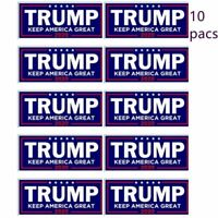 Donald Trump For President 2020 Bumper Sticker Keep Make America Great Decal x10