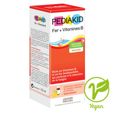 PEDIAKID FER + VITAMINES B SIROP 125 ML