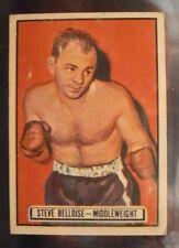 1951 Topps Ringside STEVE BELLOISE #68 boxing card VG-VG/EX+