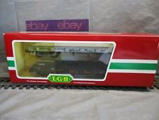 LGB G Scale White Pass 2 Flat Car Pack #44600