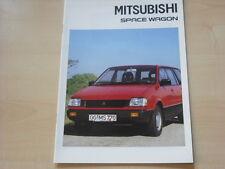 52718) Mitsubishi Space Wagon Prospekt 06/1990