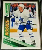 2019-20 Rasmus Sandin #315 Parkhurst Rookies - Toronto Maple Leafs