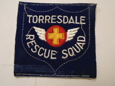 PATCH USA : TORRESDALE RESCUE SQUAD PATCH