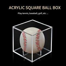 New listing Acrylic Golf Ball Holder Display Case Storage Dustproof Storage Protection Box