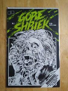 Gore Shriek #1 (1986) Fantagraphics 1st Greg Capullo Art